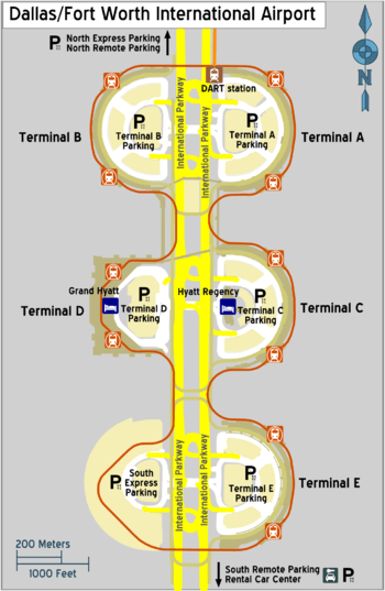 Dallas Fort Worth Airport Baggage Claim Map