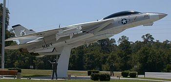 English: A U.S. Navy Grumman YF-14A Tomcat (Bu...
