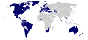 Hague Convention Signatory Countries