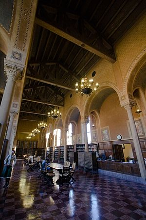 The philosophy library at USC.