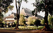 Ceremonial Hall, Bandung Institute of Technology, Bandung, by architect Henri Maclaine-Pont