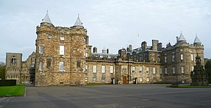 English: Palace of Holyroodhouse, Edinburgh