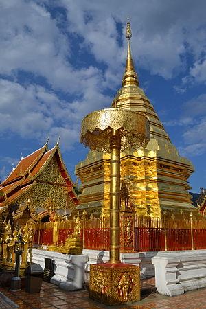 Wat Phrathat Doi Suthep, Chiang Mai, Thailand....