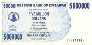 English: This is the obverse of a paper bankno...