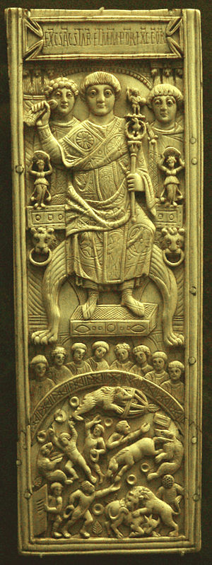 Consular diptych, Constantinople 506, in fully...