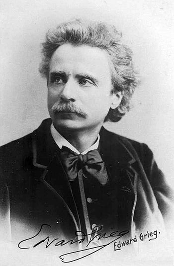 Edvard Grieg, who was a strong influence on De...