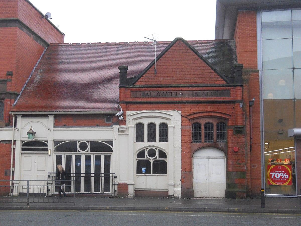 Sheffield United Fallowfield railway station - Wikipedia