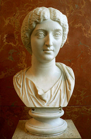 Faustina the Younger (130–175 AD). Marble, ca....