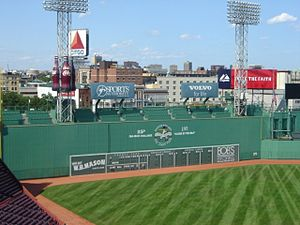 I took this picture in 2006 at Fenway Park. 19...