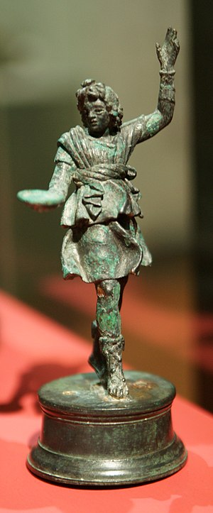A lar (household god) from the Muri statuette ...