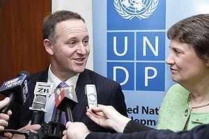 UNDP Helen Clark meeting with New Zealand Prim...