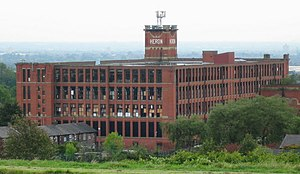 Heron Mill, Oldham, Greater Manchester, England.