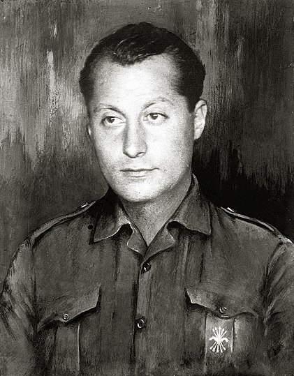 José Antonio Primo de Rivera, founder of the Spanish Falange.