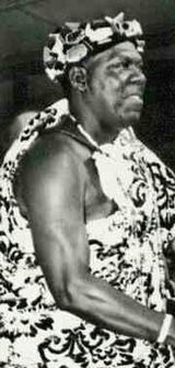 King Asantehene Prempeh II of Asanteman