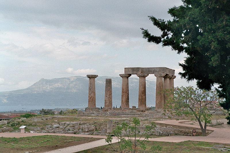 File:Korinth - Apollon-Tempel.jpg