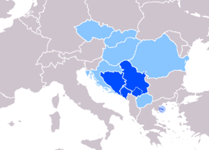 Status of Serbian language. Official in Serbia...