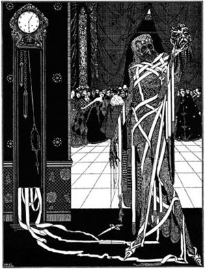 "Illustration for Edgar Allan Poe's ""The M..."