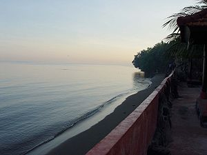 Lovina Beach at dawn