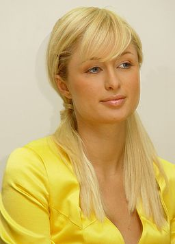 Paris hilton universal photo retouched