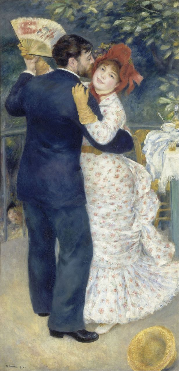 """Country Dance"" by Pierre-Auguste Renoir"