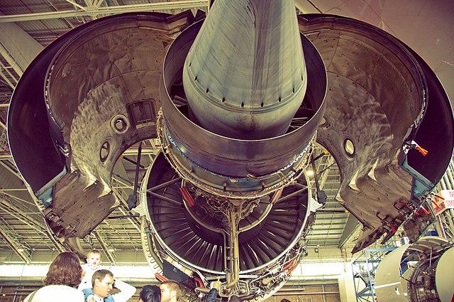Inspección de un Trent 900