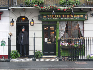 Sherlock Holmes Museum in London