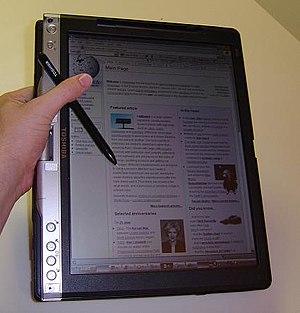 Toshiba Portege 3500 tablet PC...