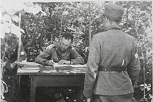 Suomi: 15. Prikaatin kenttäoikeus työssään hei...