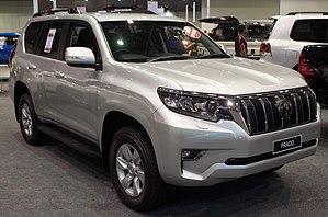 Toyota Land Cruiser Prado — Википедия
