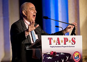 Ben Stein, actor, author and commentator, spea...