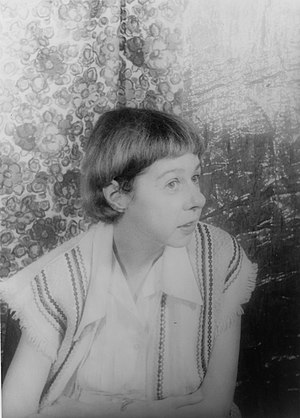 Carson McCullers photographed by Carl Van Vech...