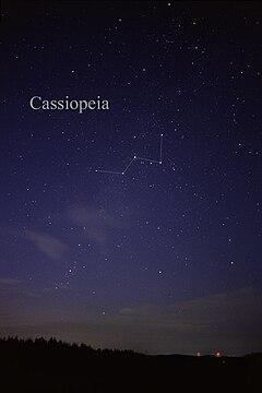 Casiopea Constelaci 243 N Wikipedia La Enciclopedia Libre