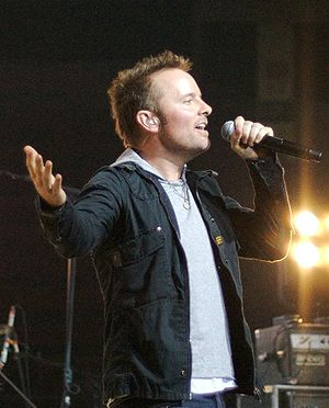 English: Chris Tomlin performing a concert in ...