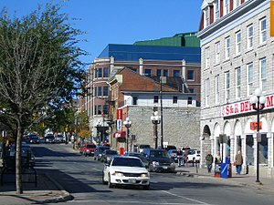 Princess Street in downtown Kingston.