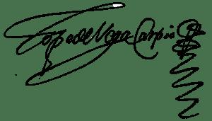 Firma de Félix Lope de Vega.