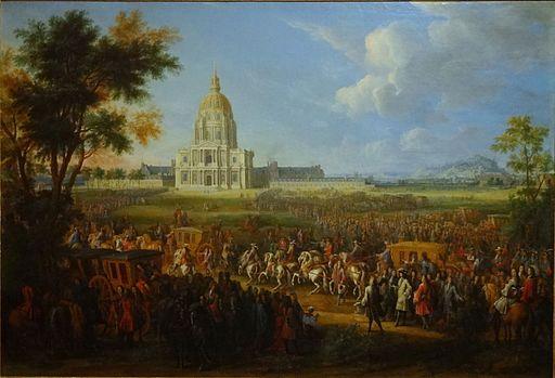 Louis XIV Invalides Pierre Denis Martin