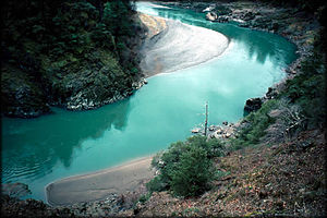 English: Lower Rogue River, Oregon, USA.