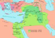 Expansión del Imperio Asirio entre 824 y 671a.C.