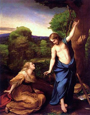 English: Jesus and Mary Magdalene