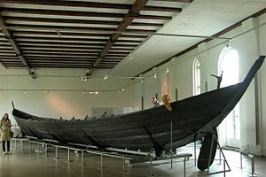 Nydam Boat, Gottorp Castle, Sleswig