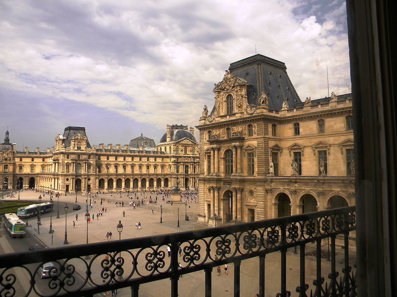 File Place Du Carrousel As Seen From The Louvre 10 July