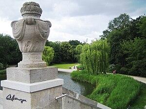 Berlin, Rudolph-Wilde-Park. Blick von der Carl...
