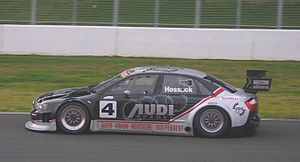English: Audi A4 Chevrolet Sports Sedan driven...