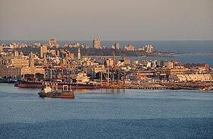 Español: Vista parcial de la ciudad desde el C...