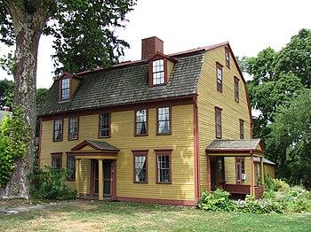 English: Strong House, Amherst Massachusetst, ...