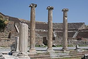 Theatre at the Asclepion, Pergamum