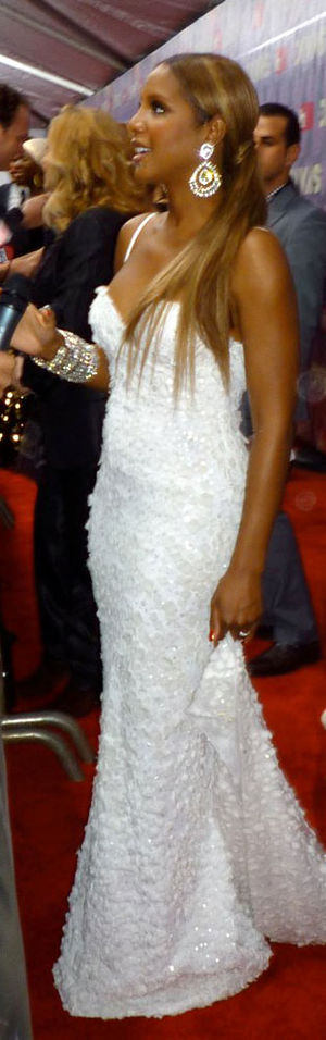 Toni Braxton on the Red Carpet at Vh1 Divas 2009