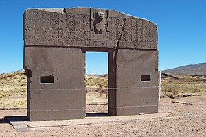 The Gateway of the Sun from the Tiwanku civili...