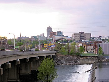 English: City of Allentown from east side