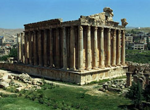 Image result for bacchus temple